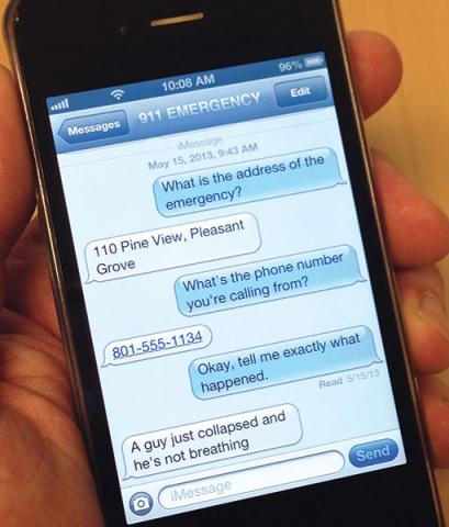 ProQA Paramount integrates text messaging feature - Priority